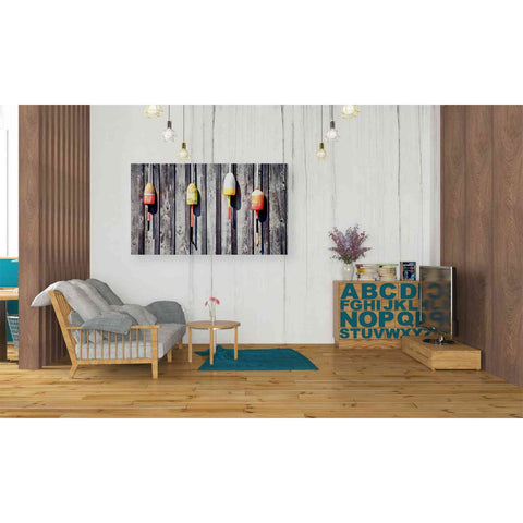 'Floaters' by Yellow Cafe, Canvas Wall Art,40 x 26
