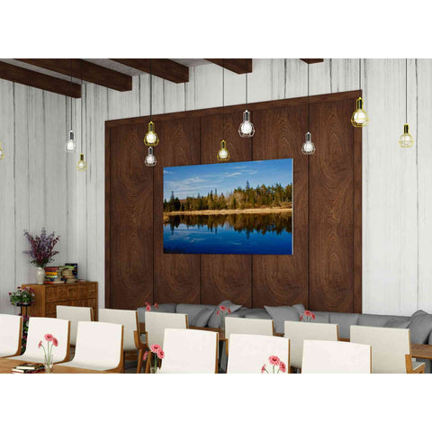 Image of 'Lake Reflections' by Yellow Cafe, Canvas Wall Art,60 x 40