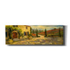 'Tuscan Fields' by Yellow Cafe, Canvas Wall Art,Size 3 Landscape