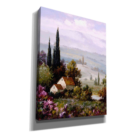 'Country Comfort II' by Yellow Cafe, Canvas Wall Art,Size B Portrait
