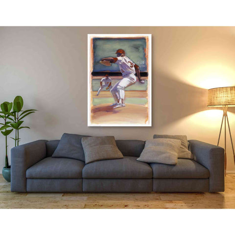 'Baseball I' by Yellow Cafe, Canvas Wall Art,40 x 60