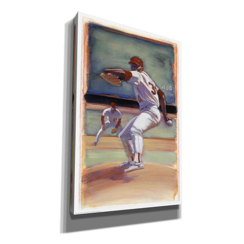 'Baseball I' by Yellow Cafe, Canvas Wall Art,Size A Portrait