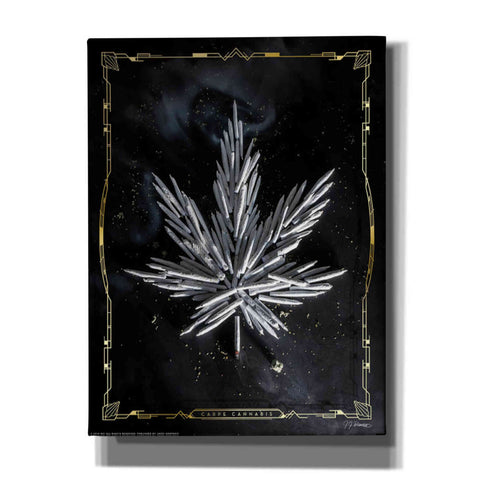 Image of 'Carpe Cannabis' by Yellow Cafe, Canvas Wall Art,Size C Portrait