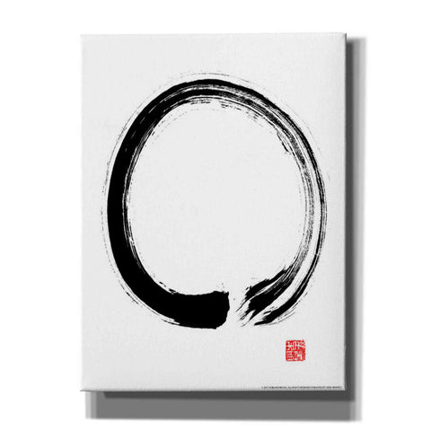 'Zen I' by Yellow Cafe, Canvas Wall Art,Size C Portrait