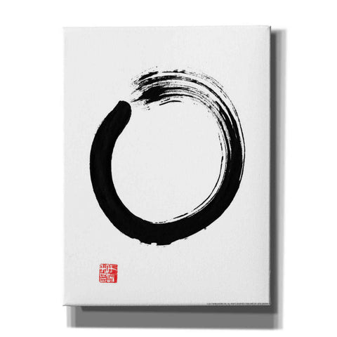 'Zen III' by Yellow Cafe, Canvas Wall Art,Size C Portrait