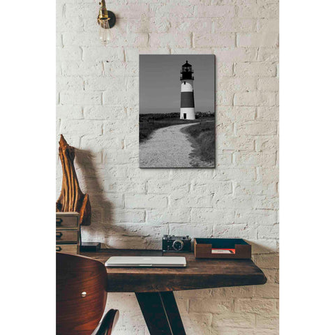 'Black and Lighthouse II' by Yellow Cafe, Canvas Wall Art,12 x 18