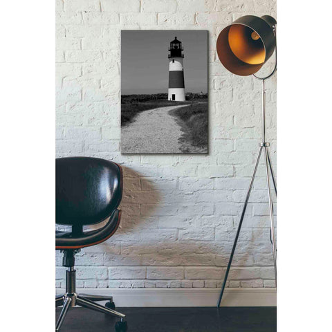 'Black and Lighthouse II' by Yellow Cafe, Canvas Wall Art,18 x 26