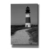 'Black and Lighthouse II' by Yellow Cafe, Canvas Wall Art,Size A Portrait