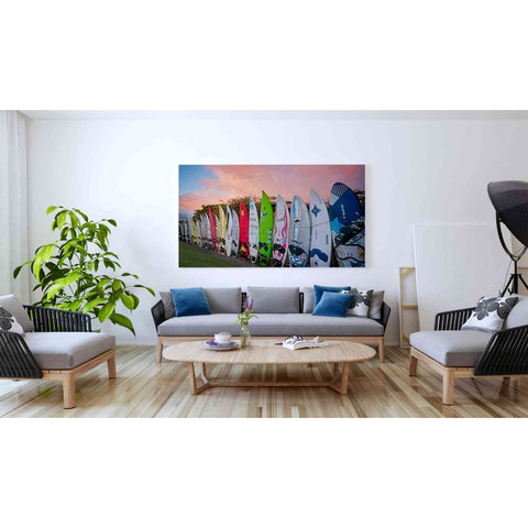 'Surf Time' by Dennis Frates, Canvas Wall Art,60 x 40