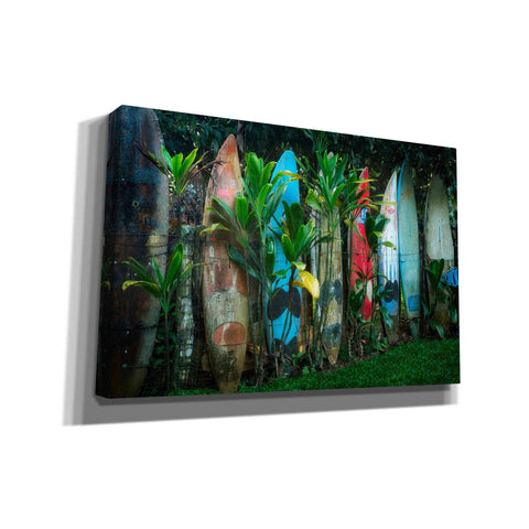 'Line Up' by Dennis Frates, Canvas Wall Art,Size A Landscape