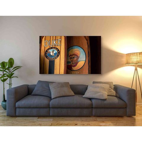 'Surf Hawaii' by Dennis Frates, Canvas Wall Art,54 x 40