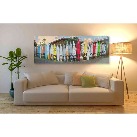 'Board Meeting' by Dennis Frates, Canvas Wall Art,60 x 20