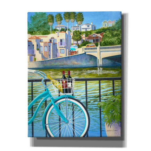 'Beach Cruisers' by Evelyn Jenkins Drew, Canvas Wall Art,Size B Portrait