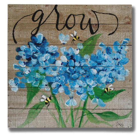 """Grow"" by Molly Susan Strong Giclee Canvas Wall Art"