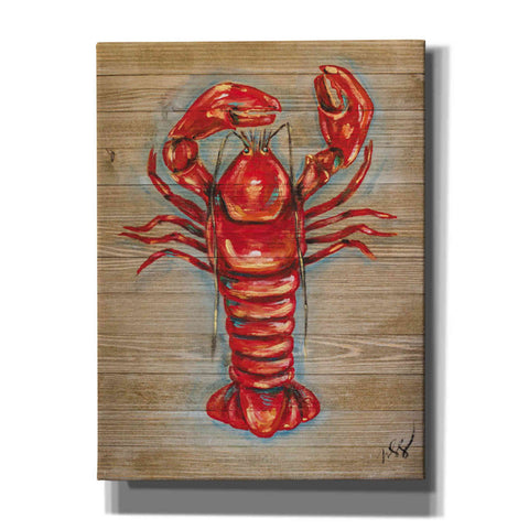 """Lobster"" by Molly Susan Strong Giclee Canvas Wall Art"