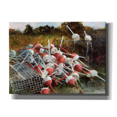 'Old Traps' by Roger Bansemer, Canvas Wall Art,Size C Landscape