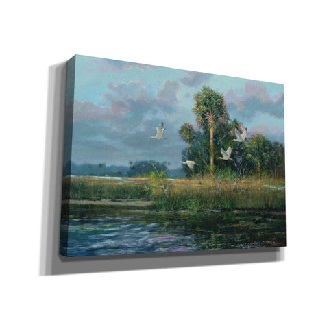 Image of 'Fisher's Island' by Roger Bansemer, Canvas Wall Art,Size B Landscape