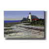 'St. Marks Lighthouse' by Roger Bansemer, Canvas Wall Art,Size A Landscape