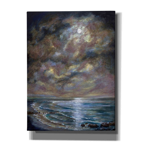'Moody Moon Light I' by Sandra Francis, Canvas Wall Art