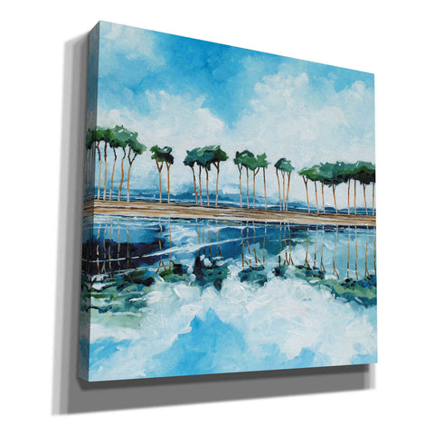 Image of 'Trees II' by Stuart Roy, Canvas Wall Art,Size 1 Square