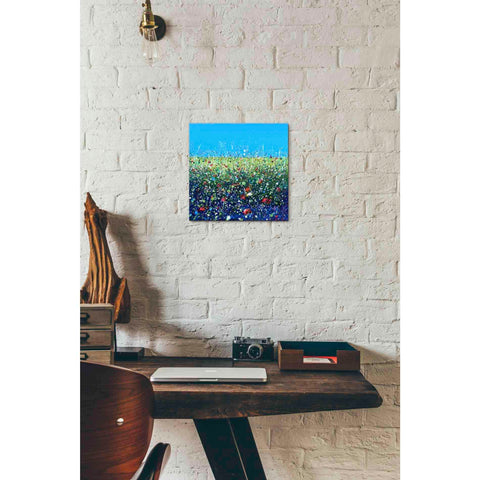 Image of 'Flowers I' by Stuart Roy, Canvas Wall Art,12 x 12