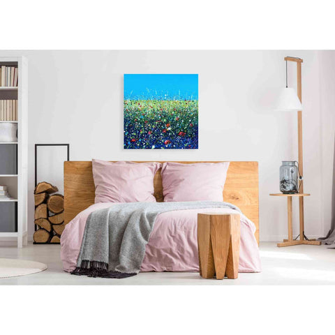 Image of 'Flowers I' by Stuart Roy, Canvas Wall Art,37 x 37
