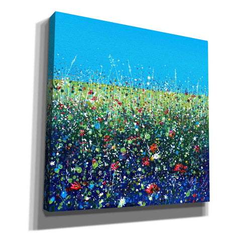 Image of 'Flowers I' by Stuart Roy, Canvas Wall Art,Size 1 Square