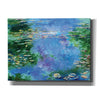 'Water Lilies III' by Stuart Roy, Canvas Wall Art,Size C Landscape