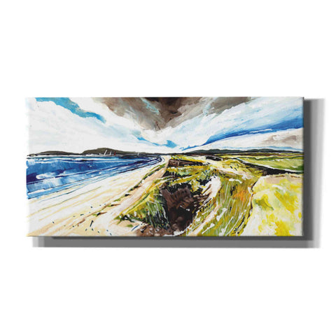 'Beach View' by Stuart Roy, Canvas Wall Art,Size 2 Landscape
