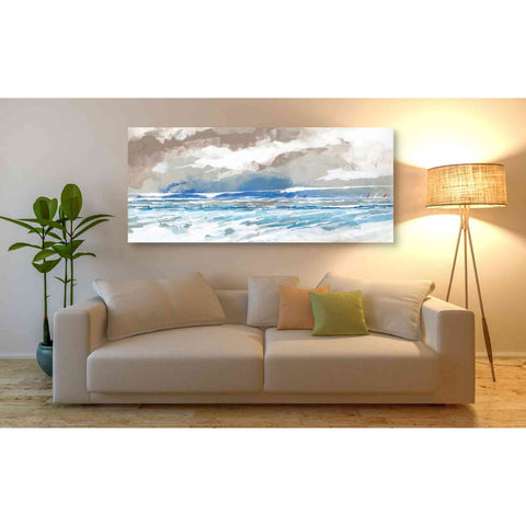 'Sea View' by Stuart Roy, Canvas Wall Art,60 x 30