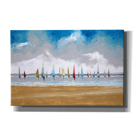 Image of 'Boats III' by Stuart Roy, Canvas Wall Art,Size A Landscape