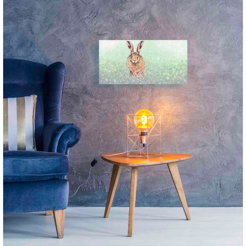 Image of 'Hare I' by Stuart Roy, Canvas Wall Art,24 x 12