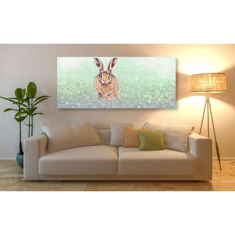 Image of 'Hare I' by Stuart Roy, Canvas Wall Art,60 x 30