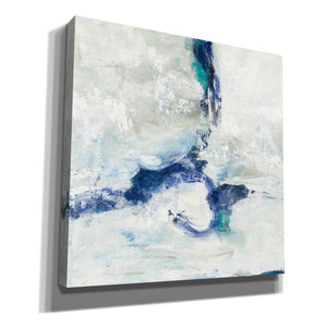 'White And Blue' by Silvia Vassileva, Canvas Wall Art