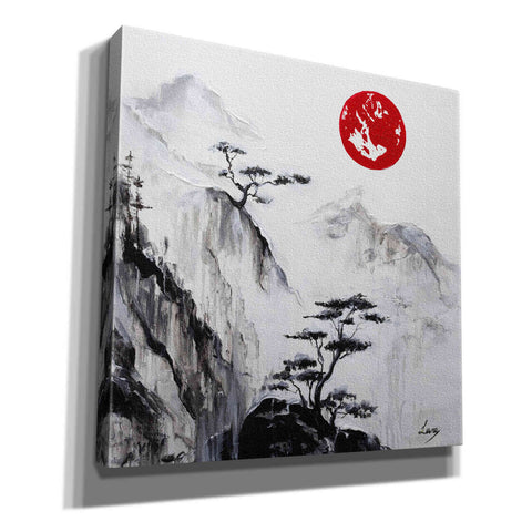 "Image of ""Crystal Silence"" Giclee Canvas Wall Art"