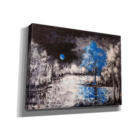 "Image of ""Blue Moon"" Giclee Canvas Wall Art"