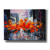 'City In A Foxy Clothes' by Lana Tikhonova Canvas Wall Art