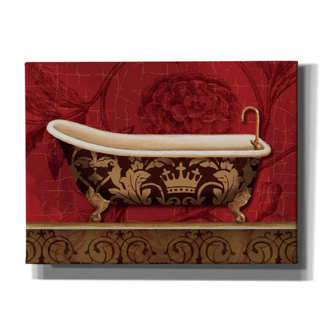 'Royal Red Bath II' by Lisa Audit, Canvas Wall Art