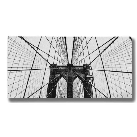 "Image of ""Brooklyn Bridge Web"" by Nicklas Gustafsson Giclee Canvas Wall Art"