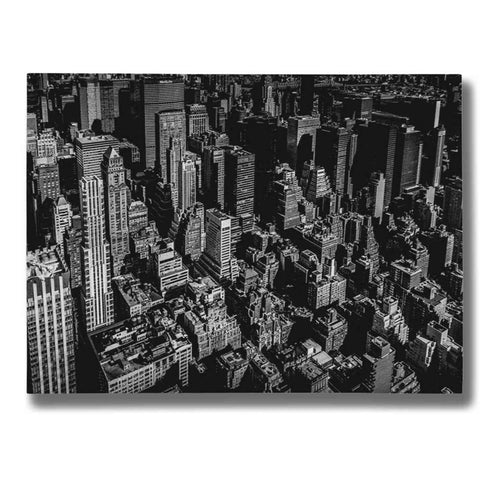 "Image of ""Manhattan Rooftop View"" by Nicklas Gustafsson Giclee Canvas Wall Art"