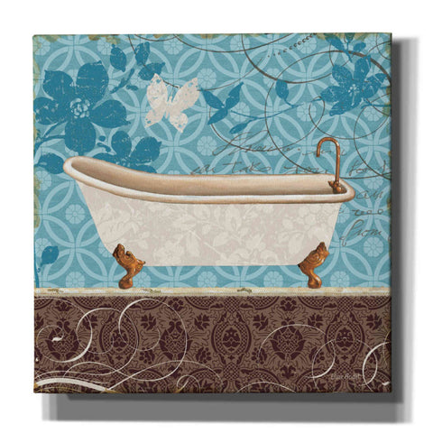 Image of 'Eco Motif Bath I' by Lisa Audit, Canvas Wall Art