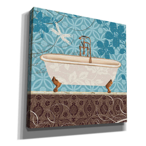 Image of 'Eco Motif Bath II' by Lisa Audit, Canvas Wall Art