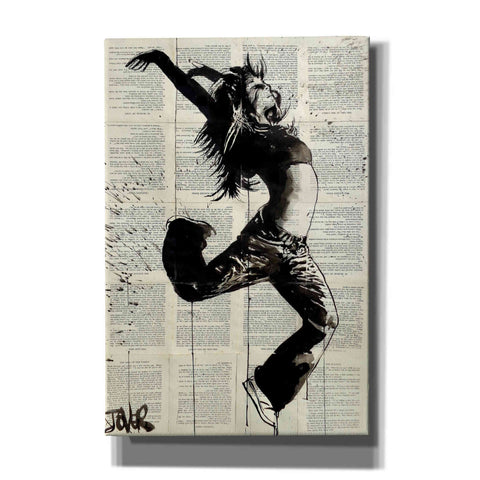 Image of 'Energy' by Loui Jover, Canvas Wall Art