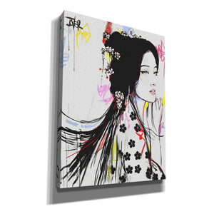 'Jing' by Loui Jover, Canvas Wall Art