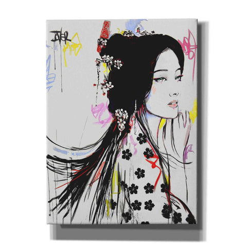 Image of 'Jing' by Loui Jover, Canvas Wall Art