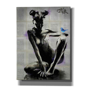 'Mischief And Hope' by Loui Jover, Canvas Wall Art