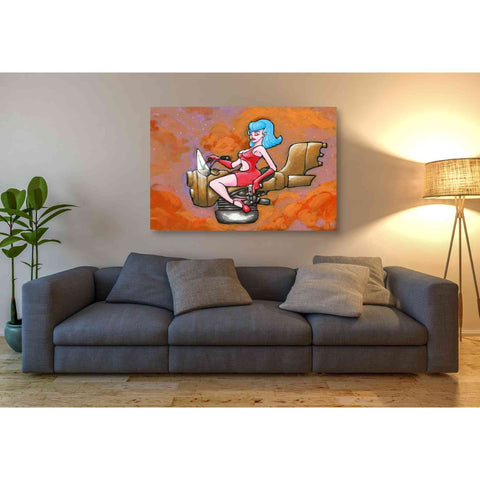 Image of 'Rocket Queen Paint' Craig Snodgrass, Canvas Wall Art,54 x 40