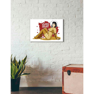 'Bettie Astronaut' Craig Snodgrass, Canvas Wall Art,26 x 18