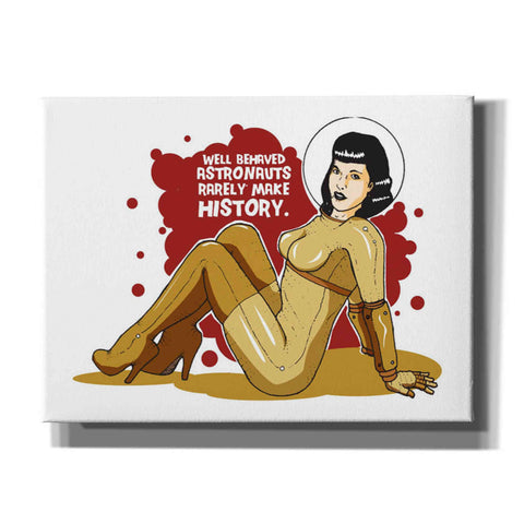 Image of 'Bettie Astronaut' Craig Snodgrass, Canvas Wall Art,Size B Landscape