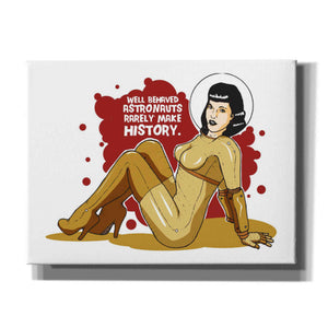 'Bettie Astronaut' Craig Snodgrass, Canvas Wall Art,Size B Landscape